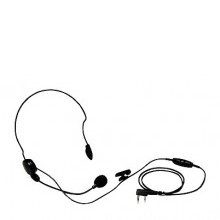 Lightweight Headset with Boom Microphone & PTT