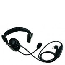 Single Muff Headset with Boom Microphone & PTT