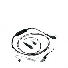 3-wire lapel mic with earphone