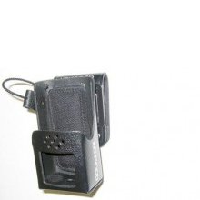Hard Leather Case with Swivel Mount
