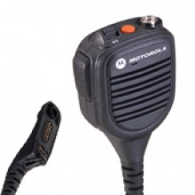 Public Safety Microphone with Enhanced Audio, 18inch Cable *