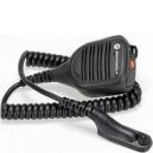 Public Safety Microphone, IP57 GCAI, 24-inch cable *