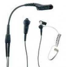 IMPRES 2-Wire Surveillance Kit with acoustic tube-Black