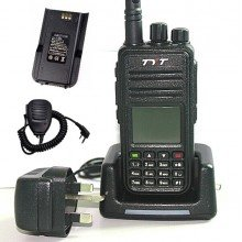 MD-380 Portable Package UHF DMR Radio + Programming Cable & Software + Speaker Microphone + Spare Battery