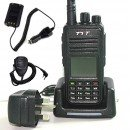 MD-380 Mobile Package UHF DMR Radio + Programming Cable & Software + Speaker Microphone + Battery Eliminator